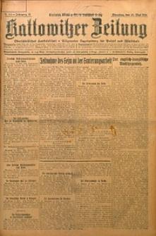Kattowitzer Zeitung, 1924, Jg. 56, nr115