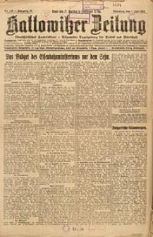Kattowitzer Zeitung, 1924, Jg. 56, nr148