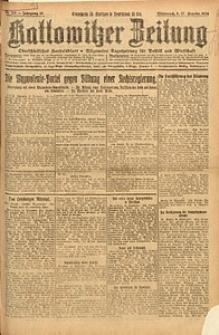 Kattowitzer Zeitung, 1924, Jg. 56, nr213
