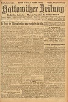 Kattowitzer Zeitung, 1924, Jg. 56, nr287
