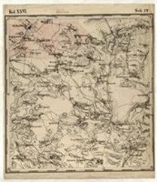 Karta geognostyczna Okręgu Wschodniego Górnictwa Królestwa Polskiego- Kol. XXVI., Sek.12.
