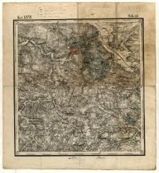 Karta geognostyczna Okręgu Wschodniego Górnictwa Królestwa Polskiego- Kol. XXVI., Sek.15. Arkusz [Waśniów]
