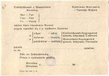 Elektrownia Warszawska i Tramwaje Miejskie