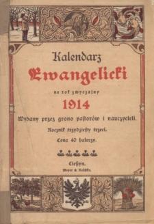 Kalendarz Ewangelicki na Rok Zwyczajny 1914