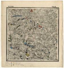 Karta geognostyczna Okręgu Wschodniego Górnictwa Królestwa Polskiego- Kol. XXVII., Sek.16. Arkusz [Opatów]