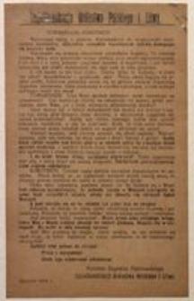Towarzysze! Robotnicy! Sierpień 1918 r.
