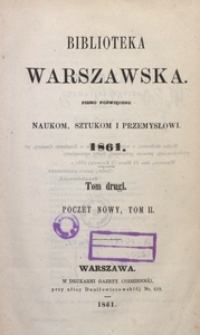 Biblioteka Warszawska, 1861, T. 2