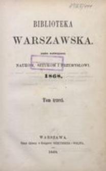 Biblioteka Warszawska, 1868, T. 3