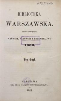 Biblioteka Warszawska, 1869, T. 2