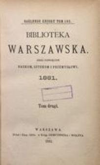 Biblioteka Warszawska, 1881, T. 2