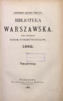 Biblioteka Warszawska, 1882, T. 1