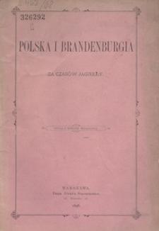 Polska i Brandenburgia za czasów Jagiełły