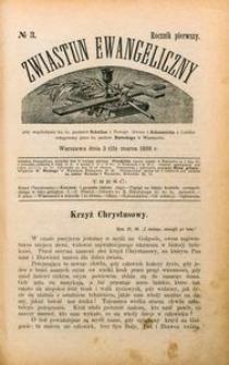 Zwiastun Ewangeliczny, 1898, R. 1, nr3