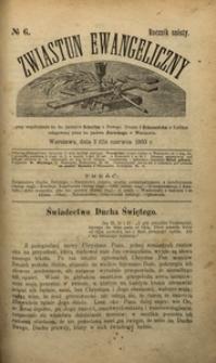 Zwiastun Ewangeliczny, 1903, R. 6, nr6
