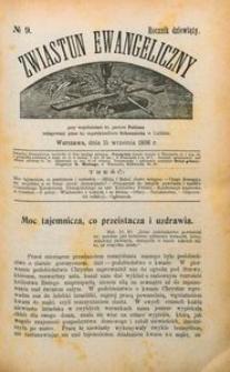 Zwiastun Ewangeliczny, 1906, R. 9, nr9
