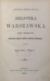 Biblioteka Warszawska, 1894, T. 1