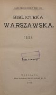 Biblioteka Warszawska, 1889, T. 4