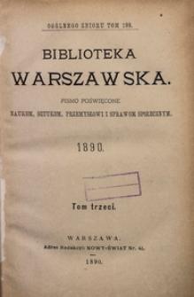 Biblioteka Warszawska, 1890, T. 3