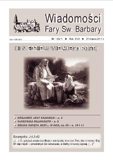 Wiadomości Fary Św. Barbary, R. 17, nr 13 (811), 2011