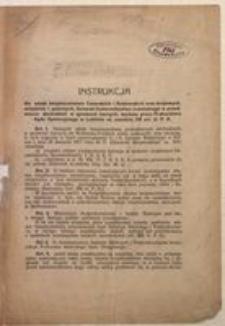 [Instrukcja]. Lublin, dnia 6 Września r. 1917