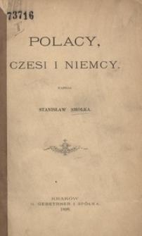 Polacy, Czesi i Niemcy