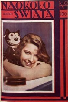Naokoło Świata, 1932, nr100