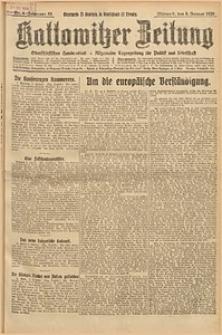 Kattowitzer Zeitung, 1926, Jg. 58, nr4