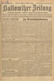 Kattowitzer Zeitung, 1926, Jg. 58, nr10
