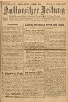 Kattowitzer Zeitung, 1926, Jg. 58, nr44