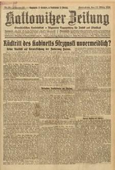 Kattowitzer Zeitung, 1926, Jg. 58, nr59