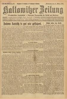 Kattowitzer Zeitung, 1926, Jg. 58, nr62