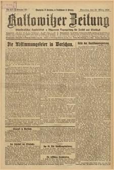 Kattowitzer Zeitung, 1926, Jg. 58, nr67