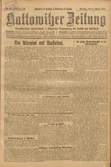 Kattowitzer Zeitung, 1926, Jg. 58, nr80