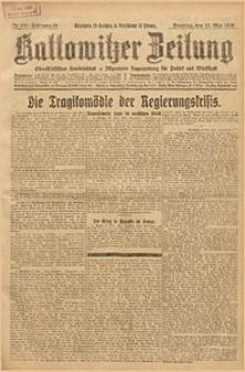 Kattowitzer Zeitung, 1926, Jg. 58, nr106