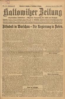 Kattowitzer Zeitung, 1926, Jg. 58, nr110