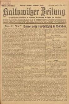 Kattowitzer Zeitung, 1926, Jg. 58, nr116