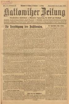 Kattowitzer Zeitung, 1926, Jg. 58, nr125