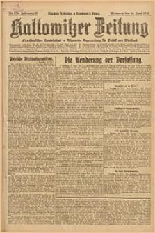 Kattowitzer Zeitung, 1926, Jg. 58, nr134