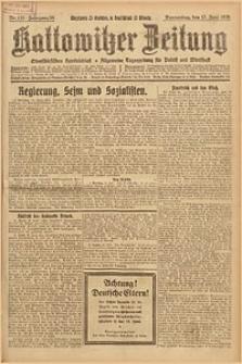 Kattowitzer Zeitung, 1926, Jg. 58, nr135