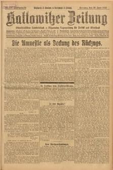 Kattowitzer Zeitung, 1926, Jg. 58, nr138