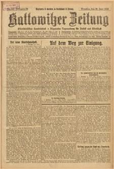 Kattowitzer Zeitung, 1926, Jg. 58, nr145