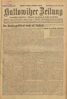 Kattowitzer Zeitung, 1926, Jg. 58, nr158