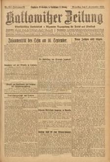 Kattowitzer Zeitung, 1926, Jg. 58, nr204