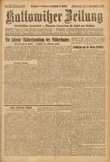Kattowitzer Zeitung, 1926, Jg. 58, nr205