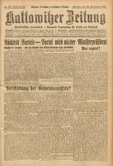 Kattowitzer Zeitung, 1926, Jg. 58, nr221