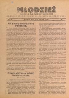 Młodzież, 1933, R. 2, Nr. 1