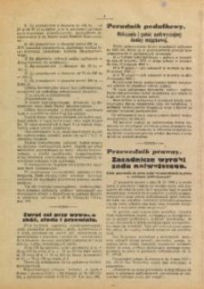 Poradnik Prawny, 1933, R. 1, Nr. 4