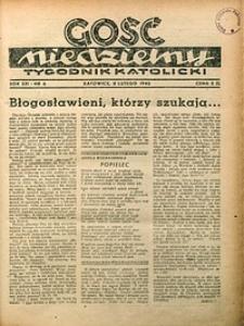Gość Niedzielny, 1948, R. 21, nr6