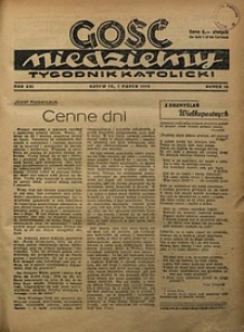 Gość Niedzielny, 1948, R. 21, nr10