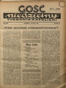 Gość Niedzielny, 1948, R. 21, nr22